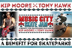 Music City Skate Jam with Tony Hawk and Kip Moore