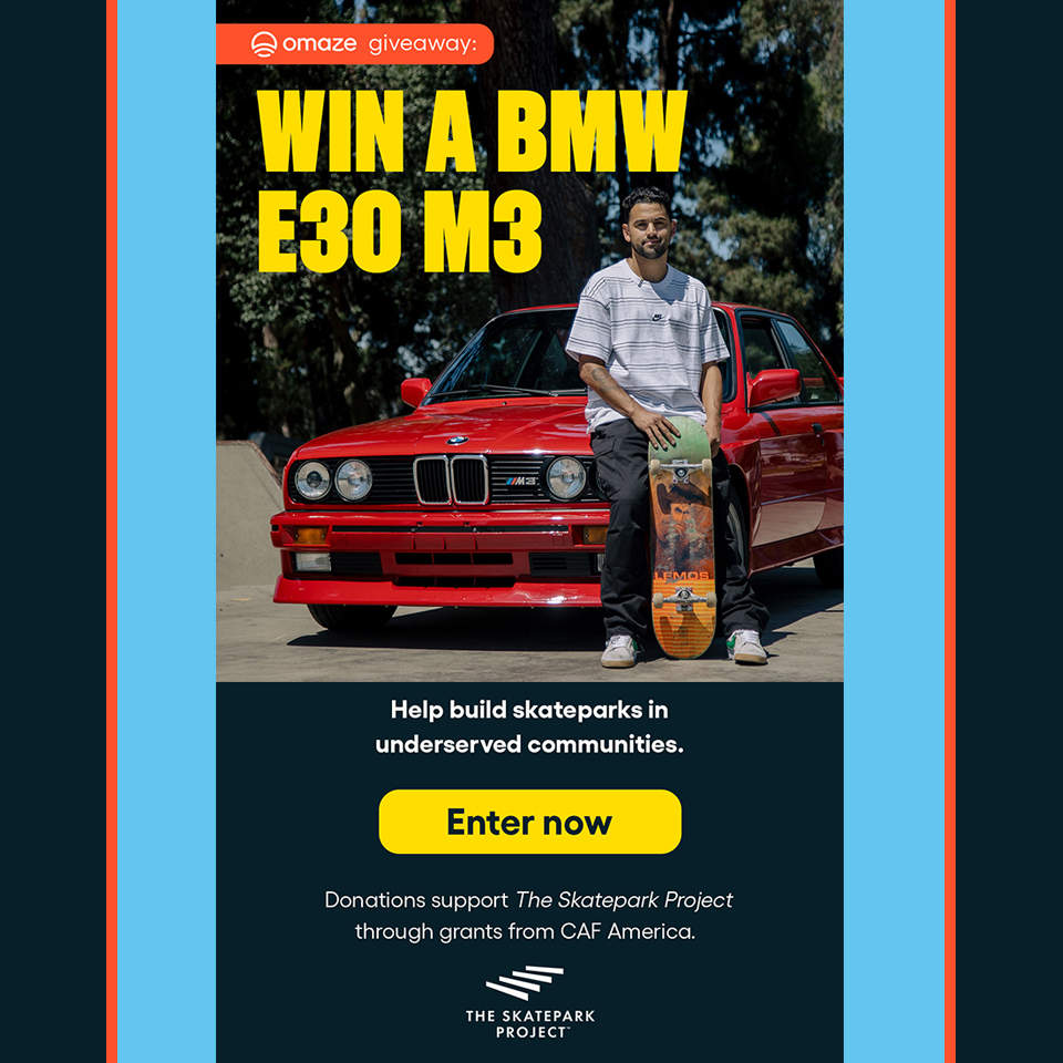 Win-a-BMW-E30-M3
